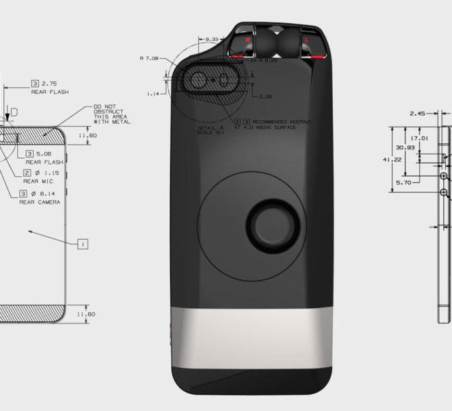 EDDS Design Projets EM Lyon Coque pour smartphone L&P