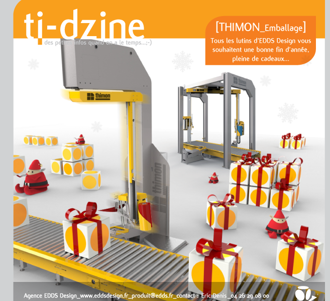 Ti-dzine Thimon machine d'emballage