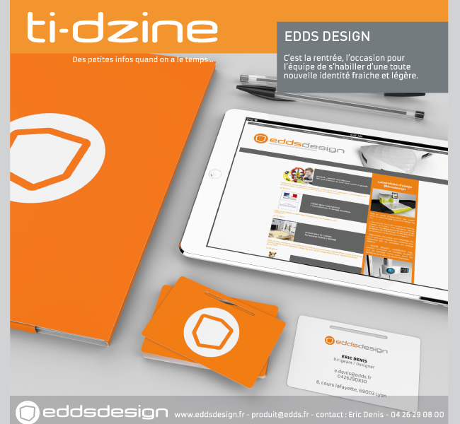 Ti-dzine Corporate identity