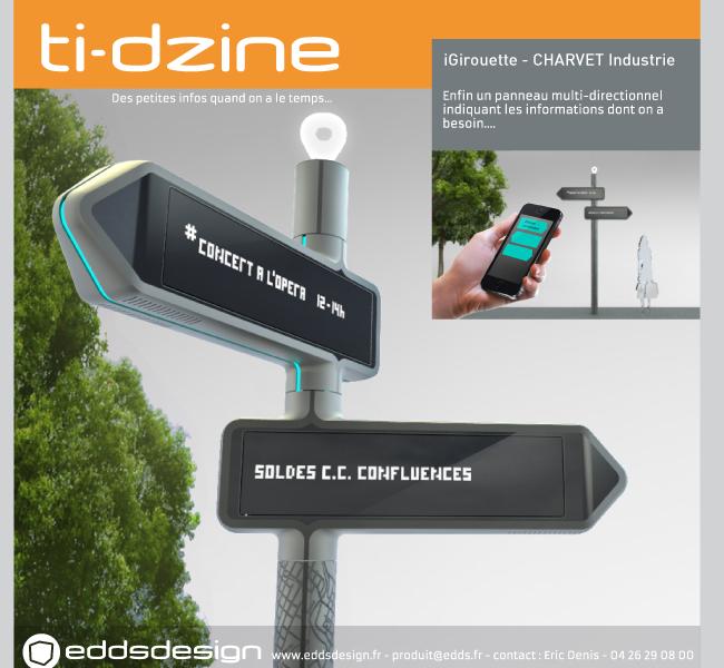 Ti-dzine Charvet Digital Media iGirouette Etoile de l'Observeur