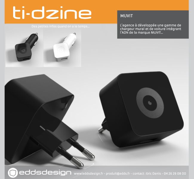 Ti-dzine Muvit Chargeur smartphone