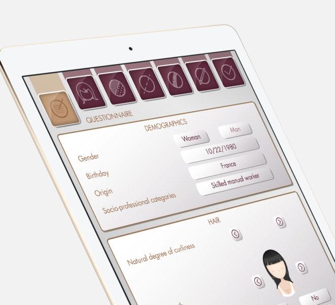 EDDS Design Projets L'Oréal Analyseur capillaire