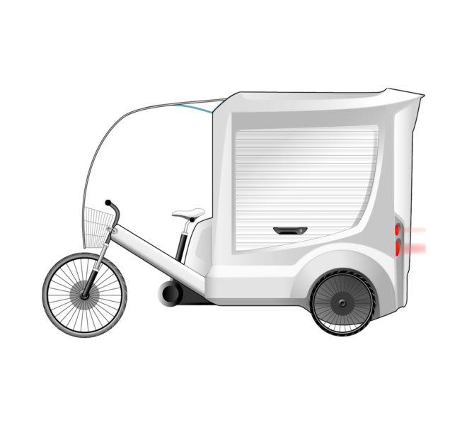 EDDS Design Projets Trike City Triporteur TNT