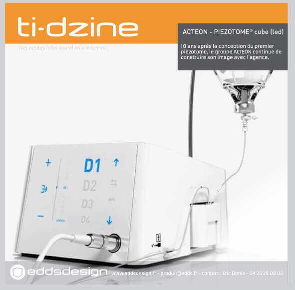 Ti-dzine Acteon Piezotome Cube
